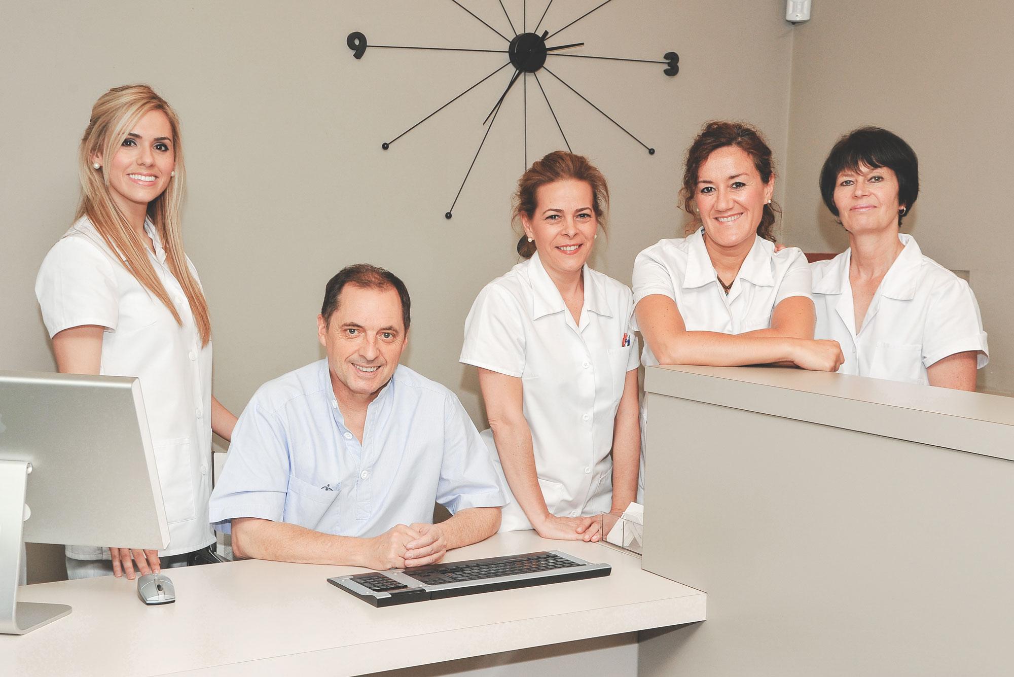 Equipo dentistas Pamplona